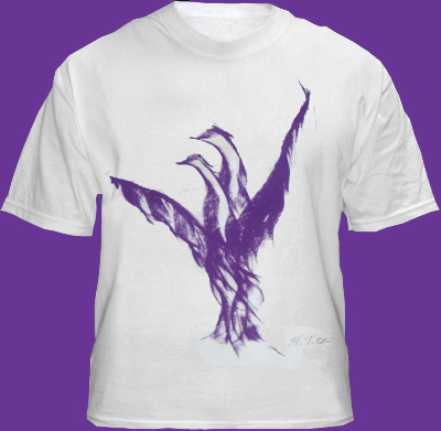 Purple Bird T-Shirt